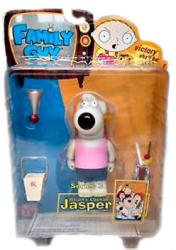 Family Guy [Series 3] Brian's Cousin Jasper action figure (Mezco/2005)