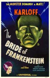 The Bride of Frankenstein movie poster [Boris Karloff] 11'' X 17''