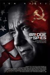 Bridge of Spies movie poster [Tom Hanks] Steven Spielberg film (27x40)