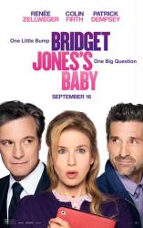 Bridget Jones's Baby movie poster [Renee Zellweger, Colin Firth] 27x40
