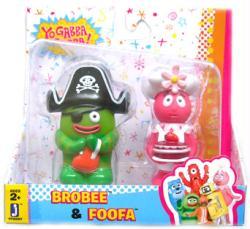 Yo Gabba Gabba: Brobee & Foofa figures 2-pack (Jazwares)