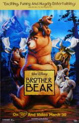 Brother Bear movie poster (Disney animated film) 26x40 video version