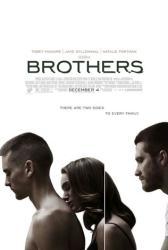 Brothers movie poster [Tobey Maguire/Jake Gyllenhaal/Natalie Portman]