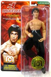 "Bruce Lee 8"" retro-style action figure (MEGO/2018)"