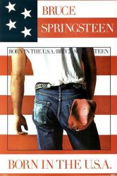 Bruce Springsteen poster: Born In the U.S.A. (24'' X 36'' poster) New