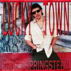 Bruce Springsteen poster: Lucky Town 24x24 vintage promo poster