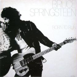 Bruce Springsteen poster: Born To Run vintage LP/Album flat