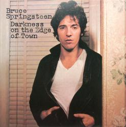 Bruce Springsteen poster: Darkness on the Edge of Town LP/Album flat