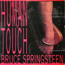 Bruce Springsteen poster: Human Touch/Lucky Town vintage LP/Album flat