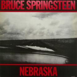 Bruce Springsteen poster: Nebraska vintage LP/Album flat