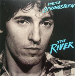 Bruce Springsteen poster: The River vintage LP/Album flat