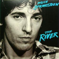 Bruce Springsteen poster: The River vintage LP/Album flat (GD)