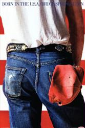 Bruce Springsteen poster: Born In the U.S.A. art (24'' X 36'')
