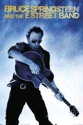 Bruce Springsteen & the E Street Band poster: Guitar (24x36)