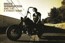 Bruce Springsteen & the E Street Band poster: Harley-Davidson (36x24)