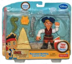 Jake & the Never Land Pirates: Buccaneer Battling Captain Flynn figure