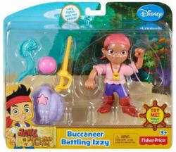 Jake and the Never Land Pirates: Buccaneer Battling Izzy figure set