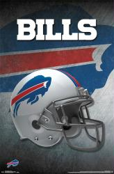 Buffalo Bills poster: Helmet (NFL) 22x34