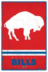 Buffalo Bills poster: Retro Logo (NFL) 22x34