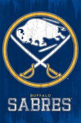 Buffalo Sabres poster: Logo (NHL) 22x34