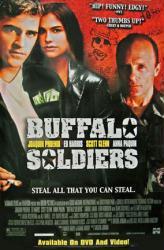 Buffalo Soldiers movie poster [Joaquin Phoenix/Anna Paquin/Ed Harris]