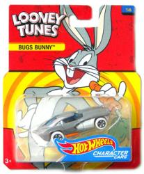 Hot Wheels Character Cars: Looney Tunes Bugs Bunny die-cast vehicle