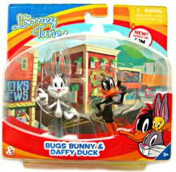The Looney Tunes Show: Bugs Bunny & Daffy Duck figures (Bridge Direct)