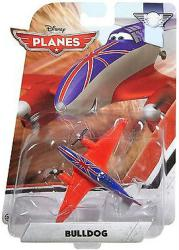 Planes: Bulldog 1:55 die-cast plane (Mattel/2015) Disney