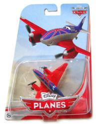 Planes: Bulldog 1:55 die-cast plane (Mattel/2013) Disney