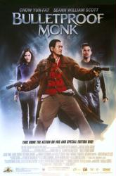 Bulletproof Monk movie poster [Chow Yun-Fat/Seann William Scott] video
