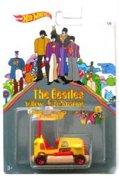 Hot Wheels: The Beatles Yellow Submarine Bump Around die-cast vehicle