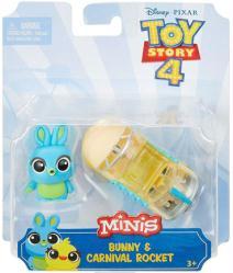 Toy Story 4 Minis: Bunny & Carnival Rocket figure set (Mattel/2018)