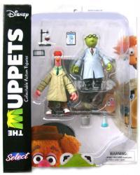 The Muppets: Bunsen & Beaker action figures (Diamond Select/2016)