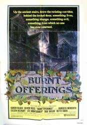 Burnt Offerings movie poster (1976) original 27x41 one-sheet