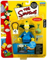 The Simpsons Series 9: Busted Krusty the Clown figure (Playmates/2002)