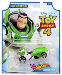 Hot Wheels Character Cars: Toy Story 4 Buzz Lightyear die-cast vehicle