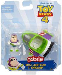 Toy Story 4 Minis: Buzz Lightyear & Spaceship figure set (Mattel/2018)