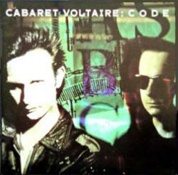 Cabaret Voltaire poster: Code vintage LP/Album flat