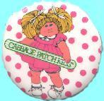 Cabbage Patch Kids [2 1/4'' round pin/button] (1983) NM
