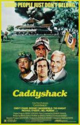 Caddyshack movie poster [Chevy Chase, Bill Murray, Dangerfield] 24x36