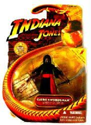 Indiana Jones [Raiders/Lost Ark] Cairo Swordsman figure (Hasbro/2008)