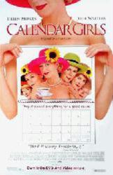 Calendar Girls movie poster [Helen Mirren & Julie Walters] video