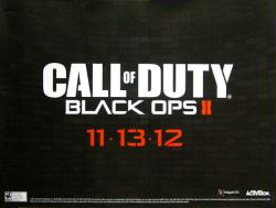 Call of Duty: Black Ops II video game poster (24x18 promo poster)