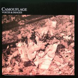 Camouflage poster: Voices & Images vintage LP/Album flat (1988)