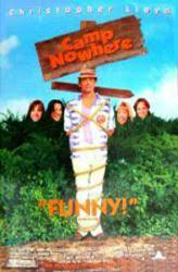 Camp Nowhere movie poster [Christopher Lloyd] 26x40 video version