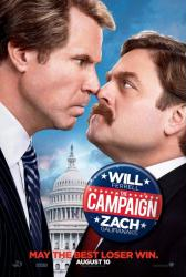 The Campaign movie poster [Will Ferrell & Zach Galifianakis] teaser