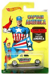 Hot Wheels: Captain America '40 Ford Coupe diecast vehicle (Mattel)