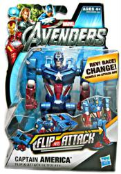The Avengers: Flip and Attack Captain America figure (Hasbro/2012)