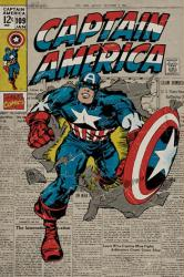 Captain America poster: Marvel Comics Issue #109 cover (24'' X 36'')