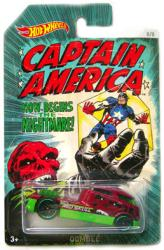 Hot Wheels: Captain America Red Skull Qombee diecast vehicle (Mattel)